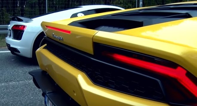Audi R8 Lamborghini Huracan