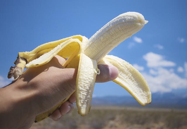 バナナでホワイトニング