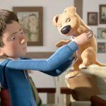 片足のない子犬と引きこもりの少年