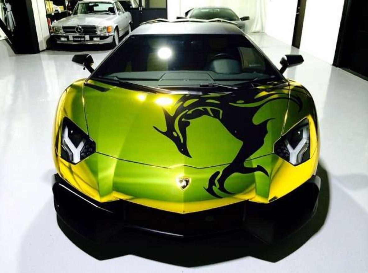 Cool Gold Cars >> 【衝撃】GACKTの愛車、ランボルギーニ・アヴェンタドール GOLDのフルラッピングがカーセンサーで売却されていた! | Foundia(ファウンディア)